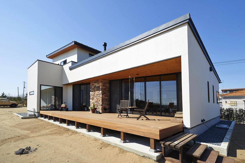斜「はす」の家の画像